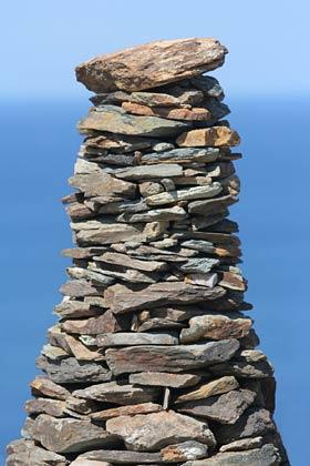 Entonnoir pierre sèche