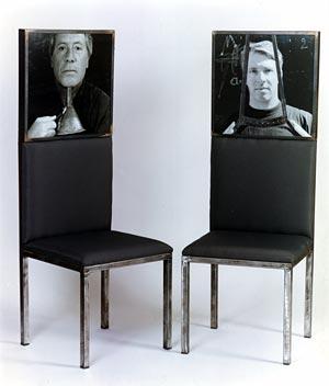Mobilier chaise portrait