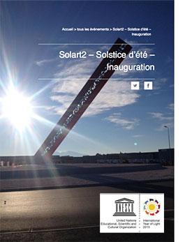 Solart 2, plus grand cadran solaire d'Europe