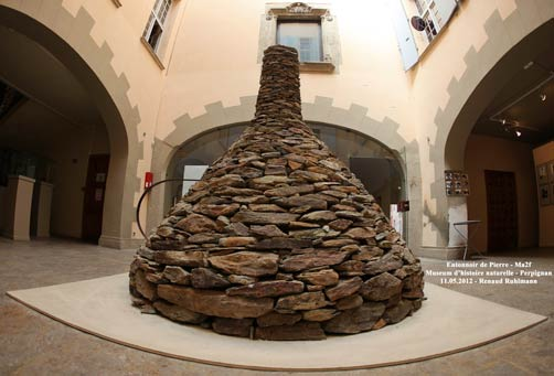 Entonnoir sculpture