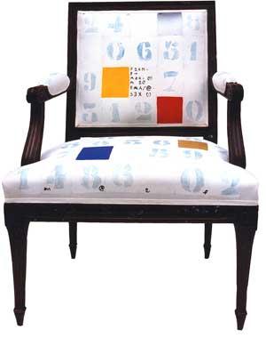 Mobilier fauteuil numérique